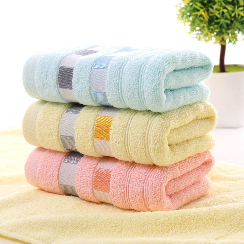 1 91 Cotton Solid Color Towels Bath Sheet Bath Towel Hand Towel