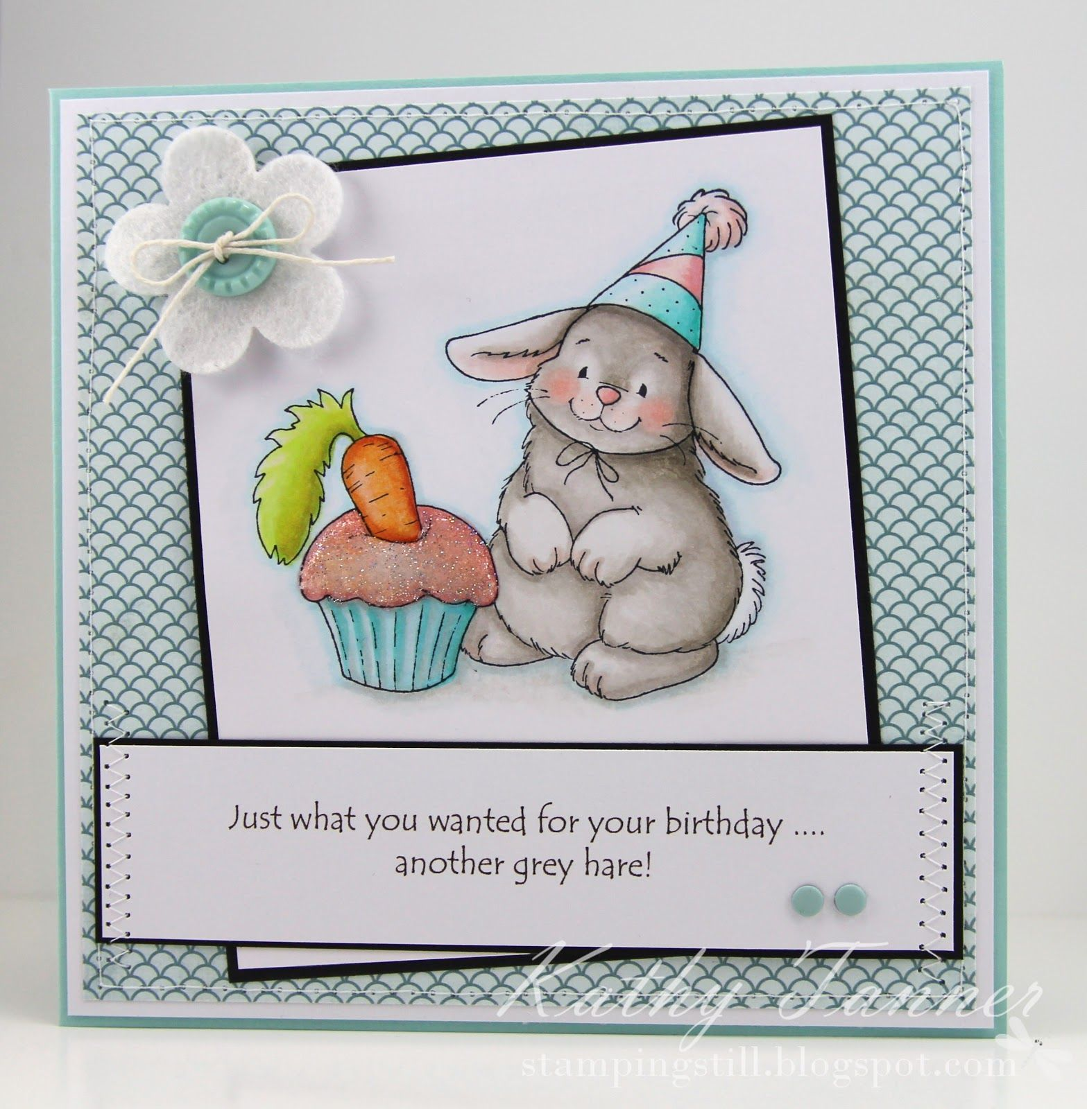 Bunny s Birthday Whimsy Crissy Armstrong Hare