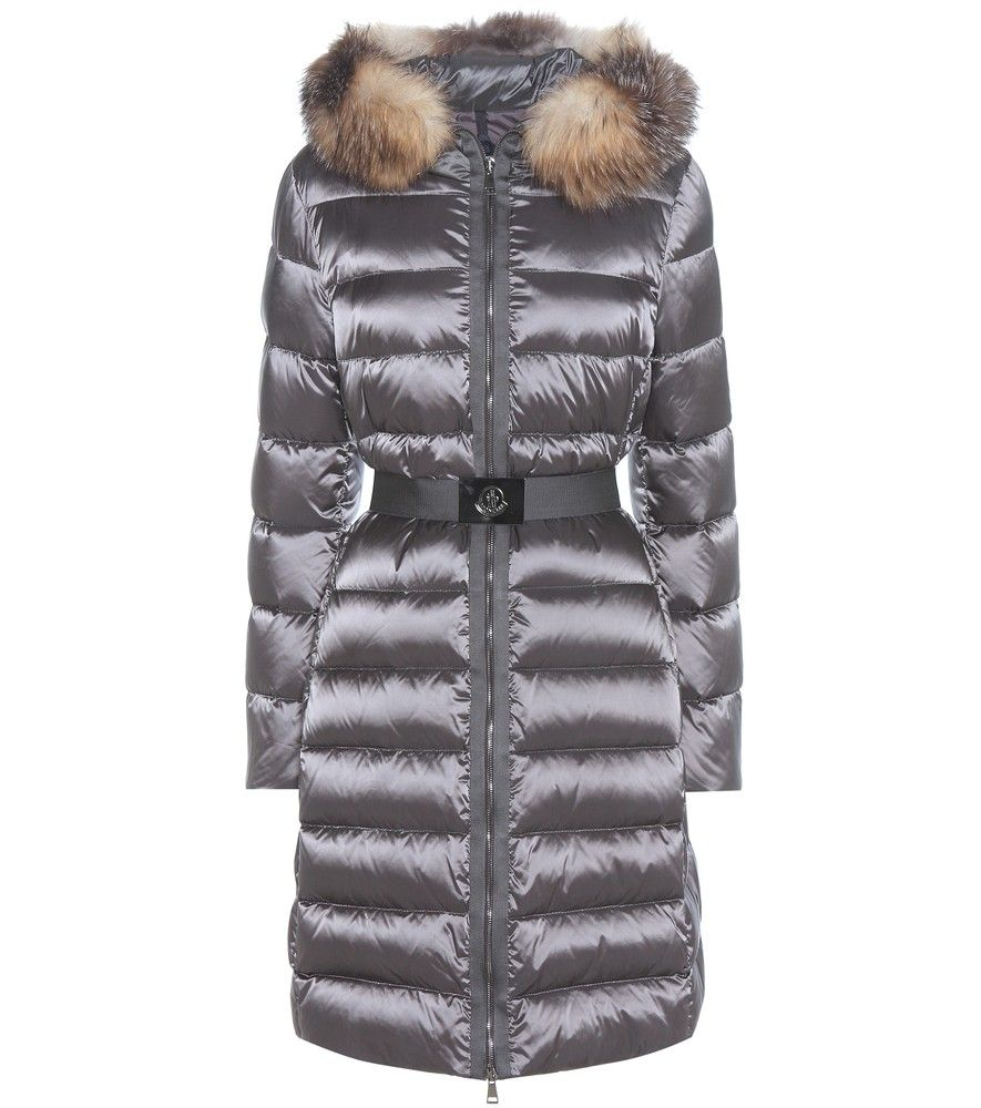3a29e4880 Moncler - Tinuviel down coat with fur - Filled with airy down for ...