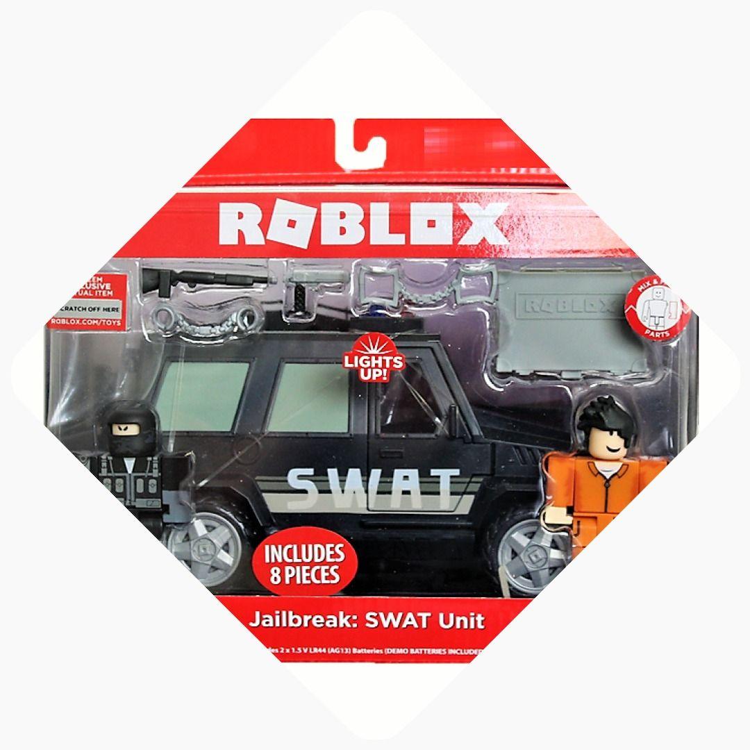 Roblox Jailbreak Swat Unit Starwars Toy Transformers Toys Avengers Funko Marvel Hasbro Toyshnip Roblox