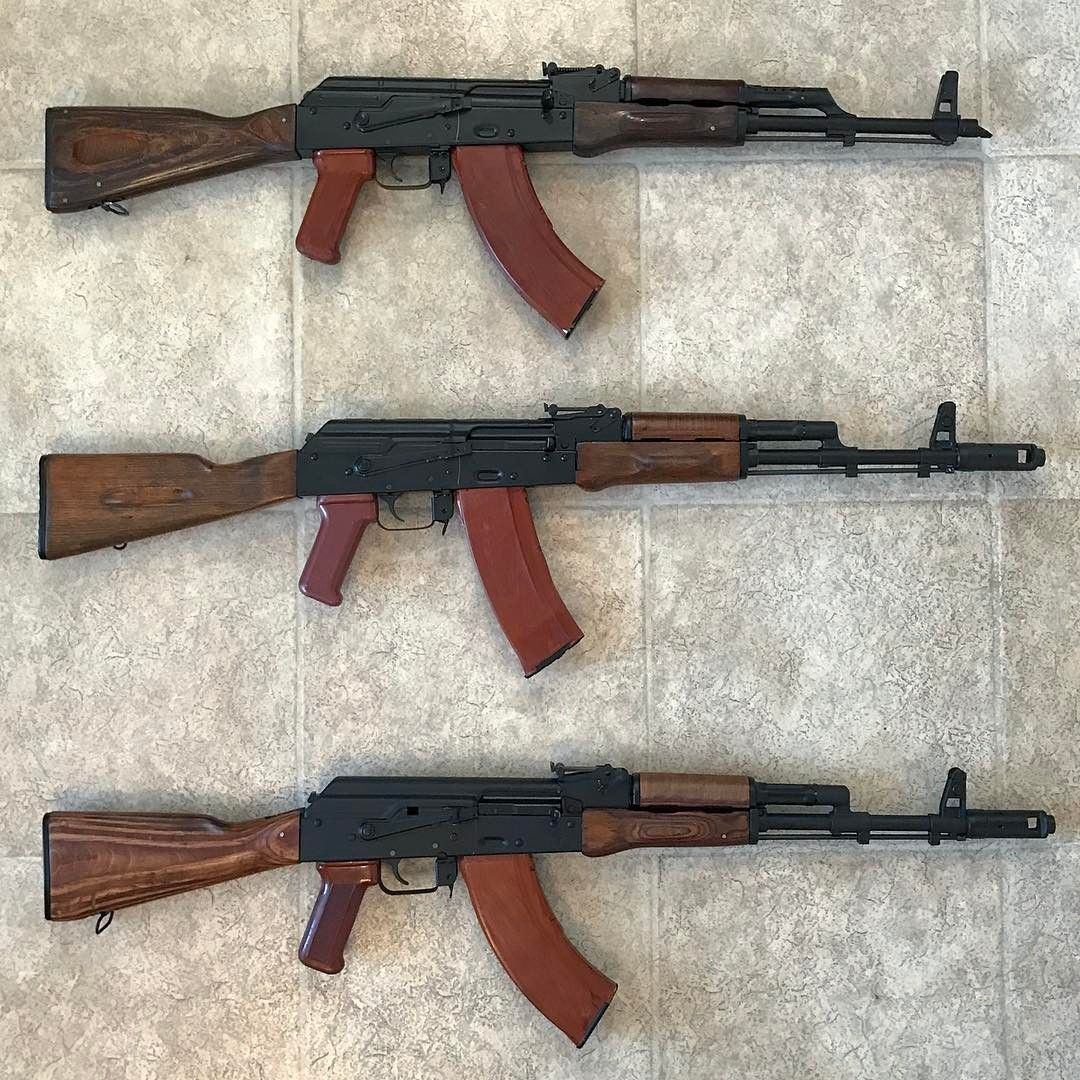Besides Caliber, what are the differences between the AKM and AK-74? : ak47