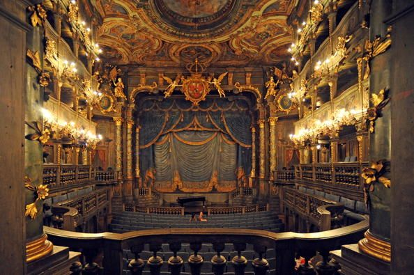 Margravial Opera House Bayreuth Unesco World Heritage Centre Wonders Of The World World Heritage Sites Theatre Architecture