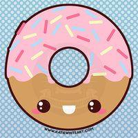 Cute Donut Drawing Sugar cute donut by pai Donut drawing