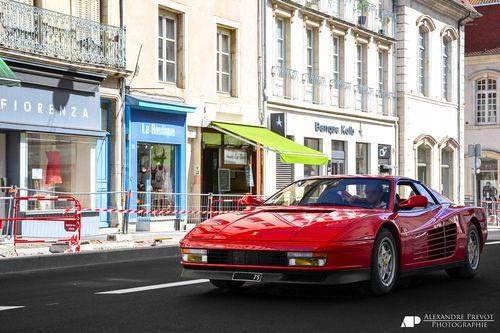 automotivated: Ferrari Testarossa (por Alexandre Prévot)