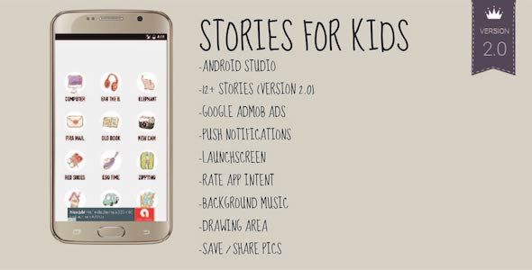 Stories for Kids - Android Storybook App for Books | Modern