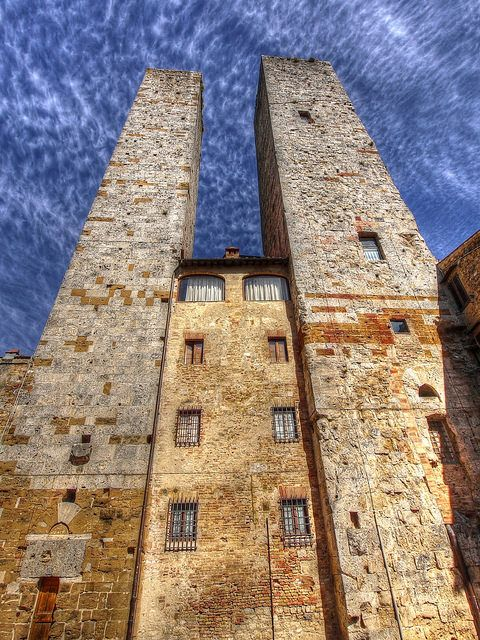 The Towers of San Gimignano . Italy