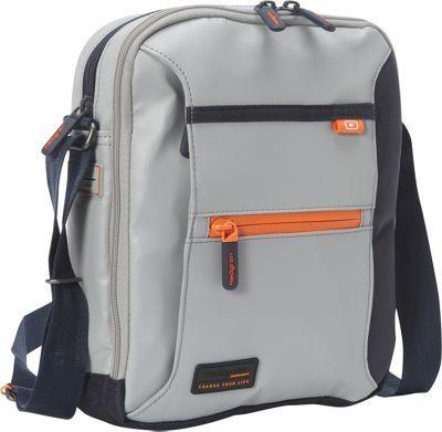 de5c53cea Hedgren Passage Shoulder Bag Light Grey/Dark Blue - via eBags.com!