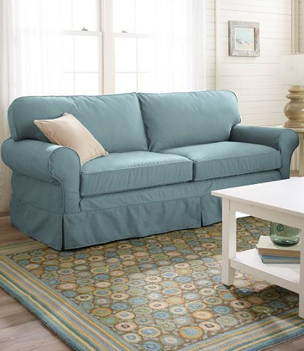 Pine Point Sleeper Sofa and Cover L L Bean