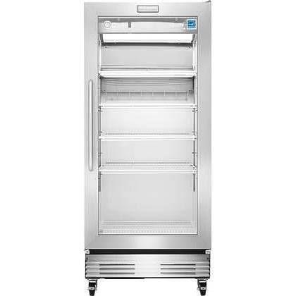 Frigidaire Commercial Stainless Steel Glass Door Merchandiser - Abt refrigerators