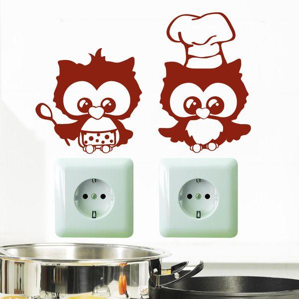 Wandtattoo Lichtschalter Steckdose Eulen Küche Products - wandtattoo küche bilder