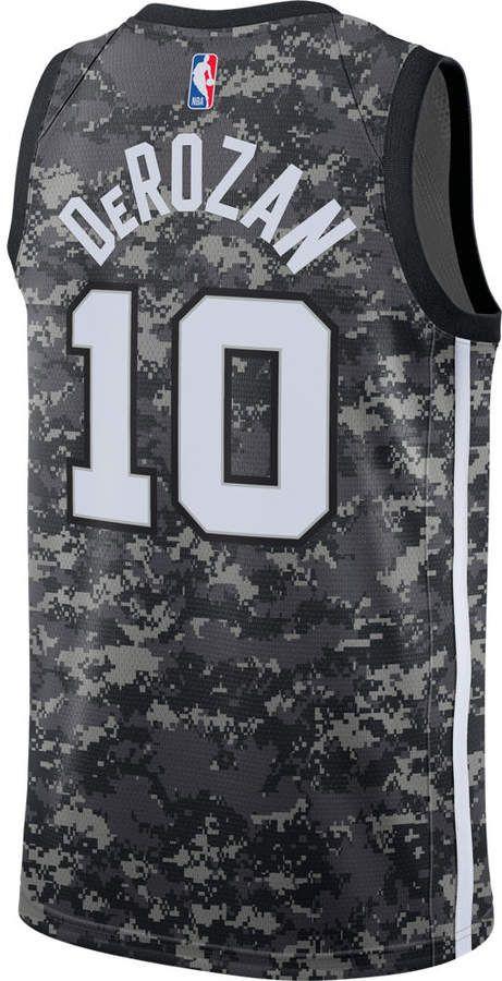 the latest 4c502 7bc50 Nike Men's San Antonio Spurs NBA DeMar DeRozan City Edition ...