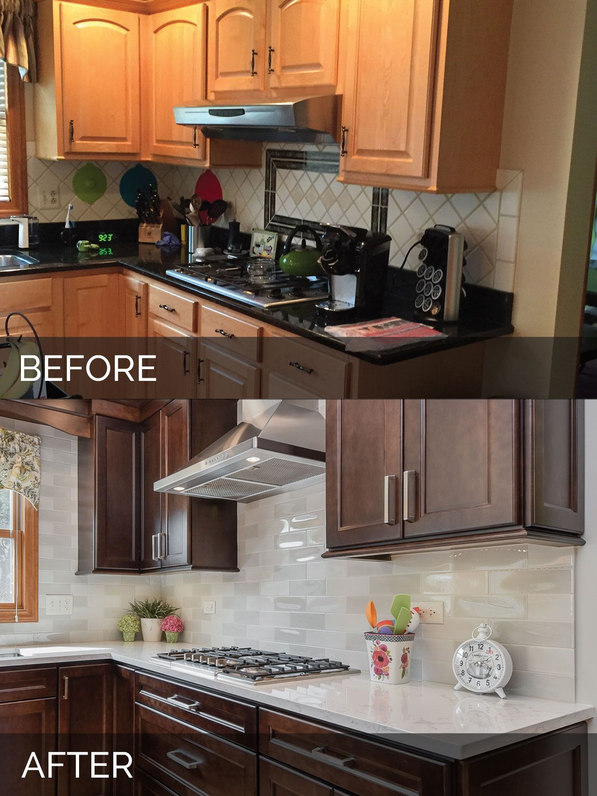 Sue Russell S Kitchen Before After Pictures Interior Design Kitchen Kitchen Design Kitchen Remodel Small