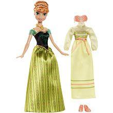 Disney Frozen Coronation Day Anna Doll