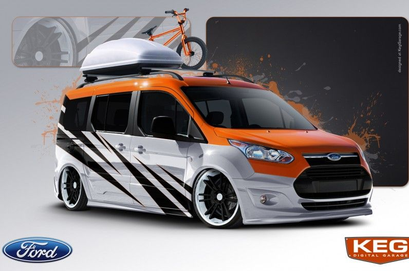 Ford Transit Connect Taking Over 2013 Sema Show Motor Trend Wot