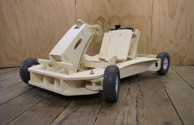 kart over madeira Empresa americana cria kart de madeira para montar em casa | CNC  kart over madeira