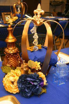 ddk royal prince centerpiece centerpieces baby shower princess rh pinterest com