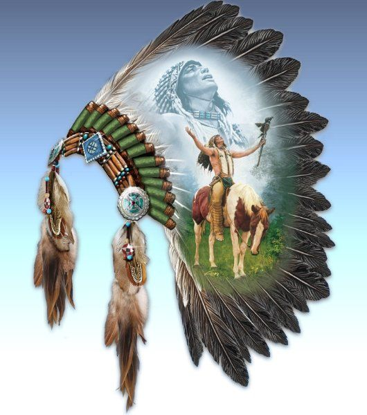 Native American-Inspired Wall Decor: Calling Of The Spirits by Chuck ...