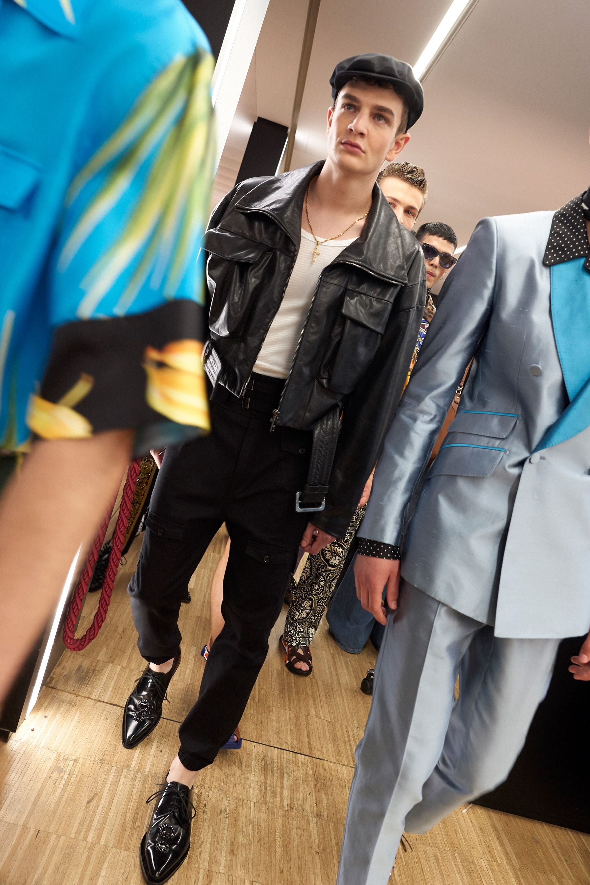 An Insider S Look To The Men S Spring Summer 2020 Dgsiciliantropical Fashion Show Held At The Metropol In Mil Dolce And Gabbana Man Menswear Dolce And Gabbana