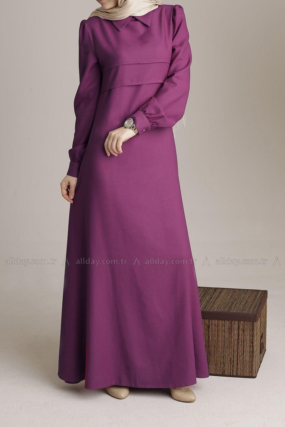 Allday Murdum Elbise 090 1279 Modelini Incelemek Icin Lutfen Sayfamizi Ziyaret Ediniz Elbise Elbise Modelleri Islami Giyim