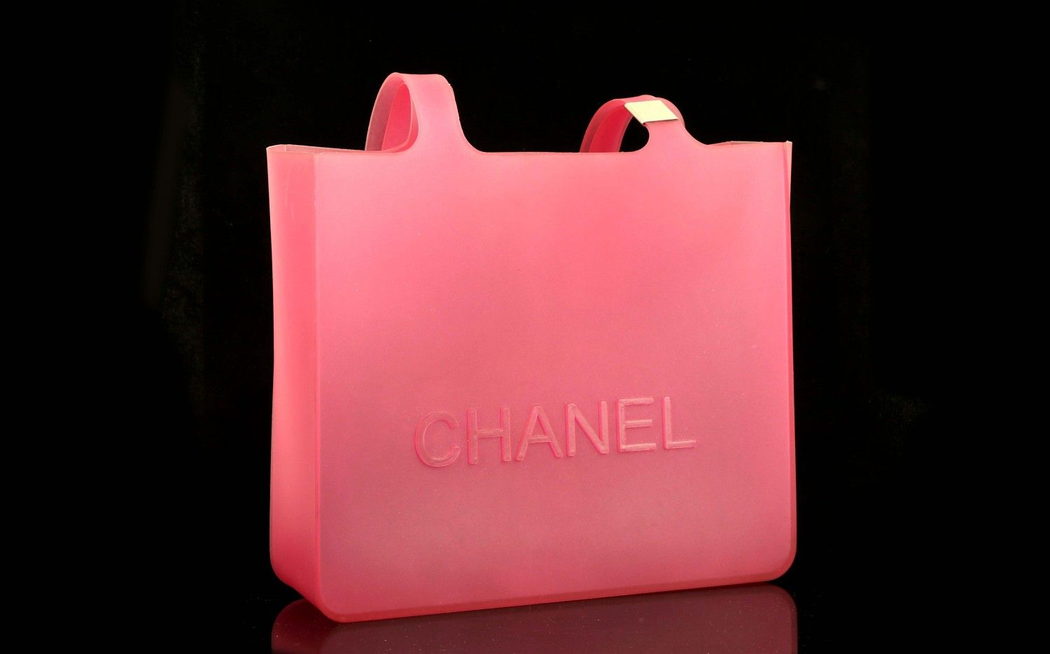 7d0af52227c CHANEL JELLY RUBBER BAG