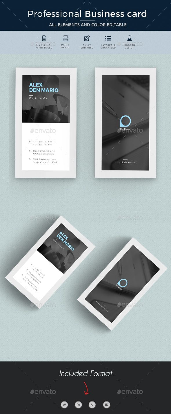 Business card reheart Gallery