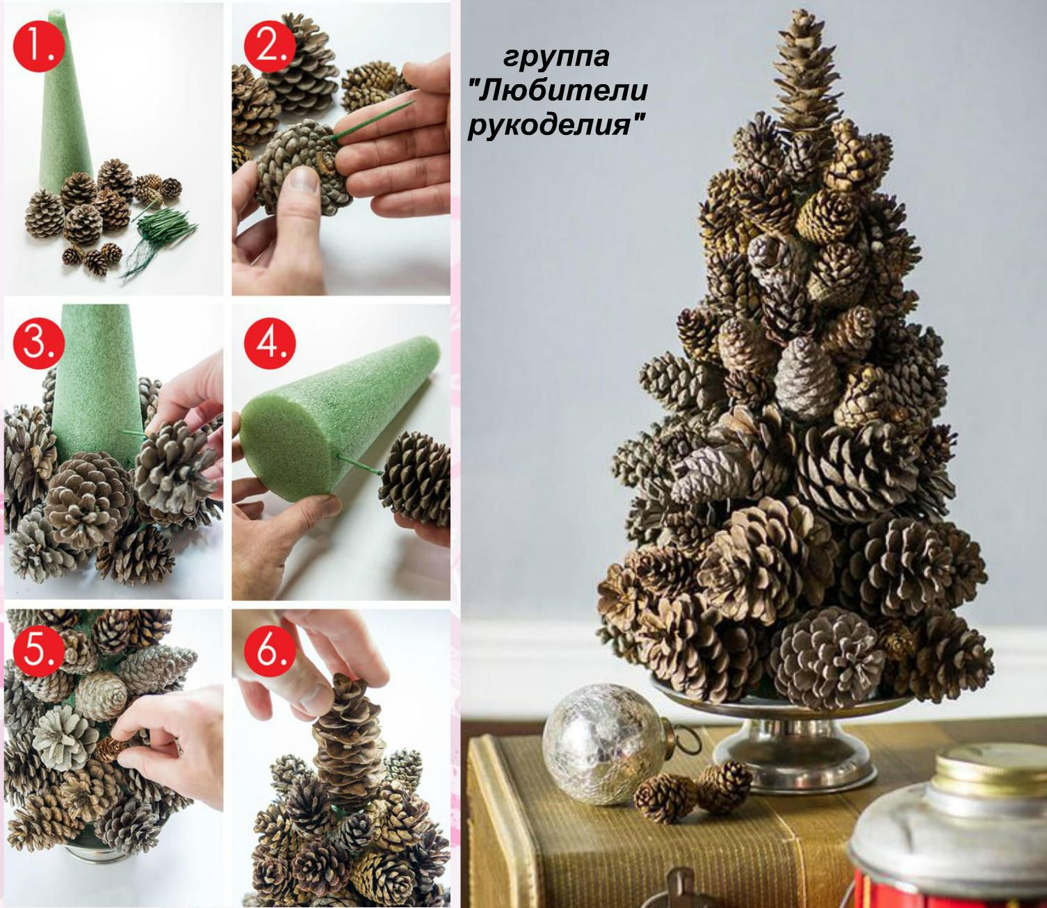 glass pinecone christmas ornaments