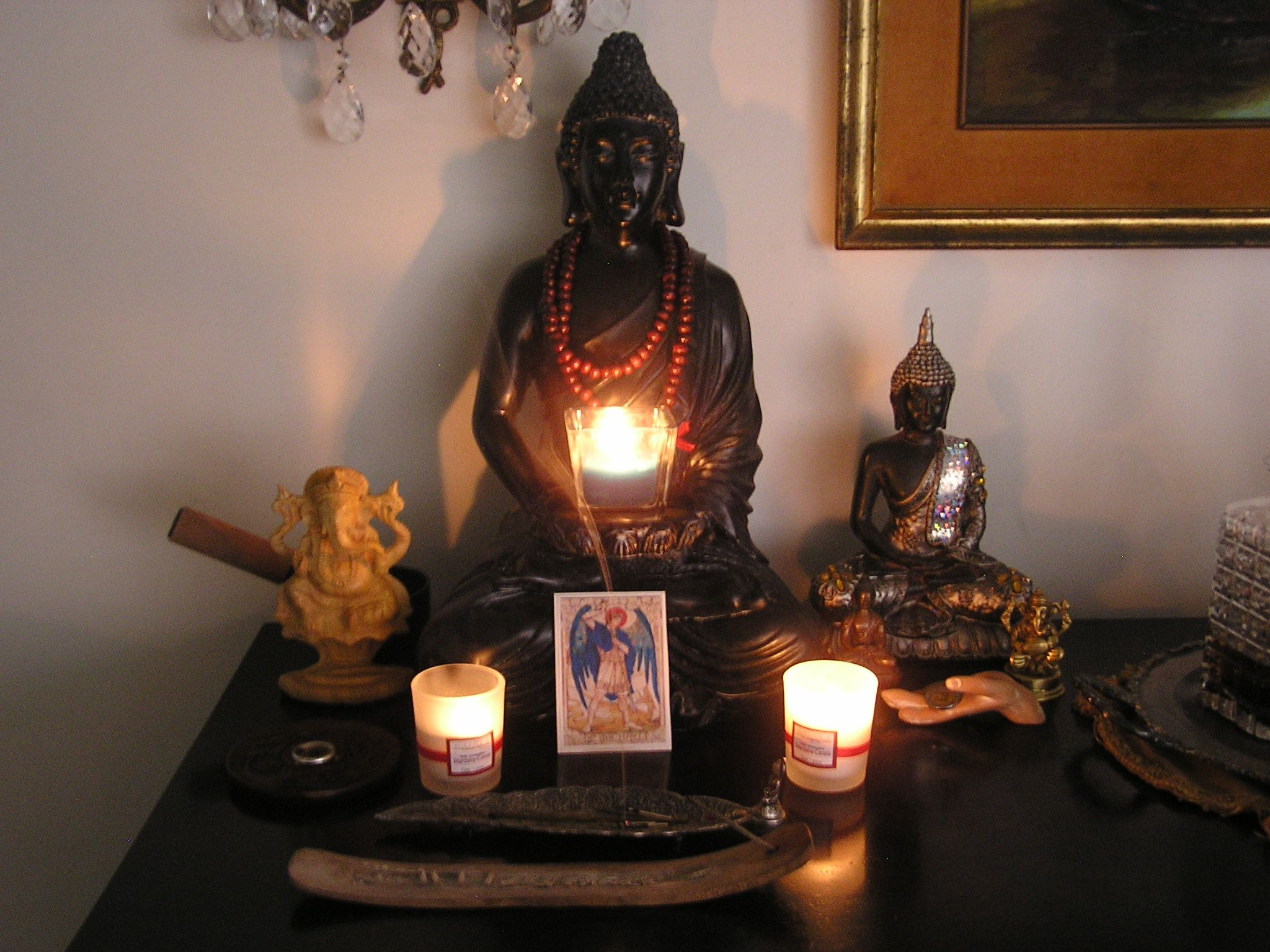 Buddha Peaceful Corner Zen Home Decor Interior Styling: My Own Meditating Altar