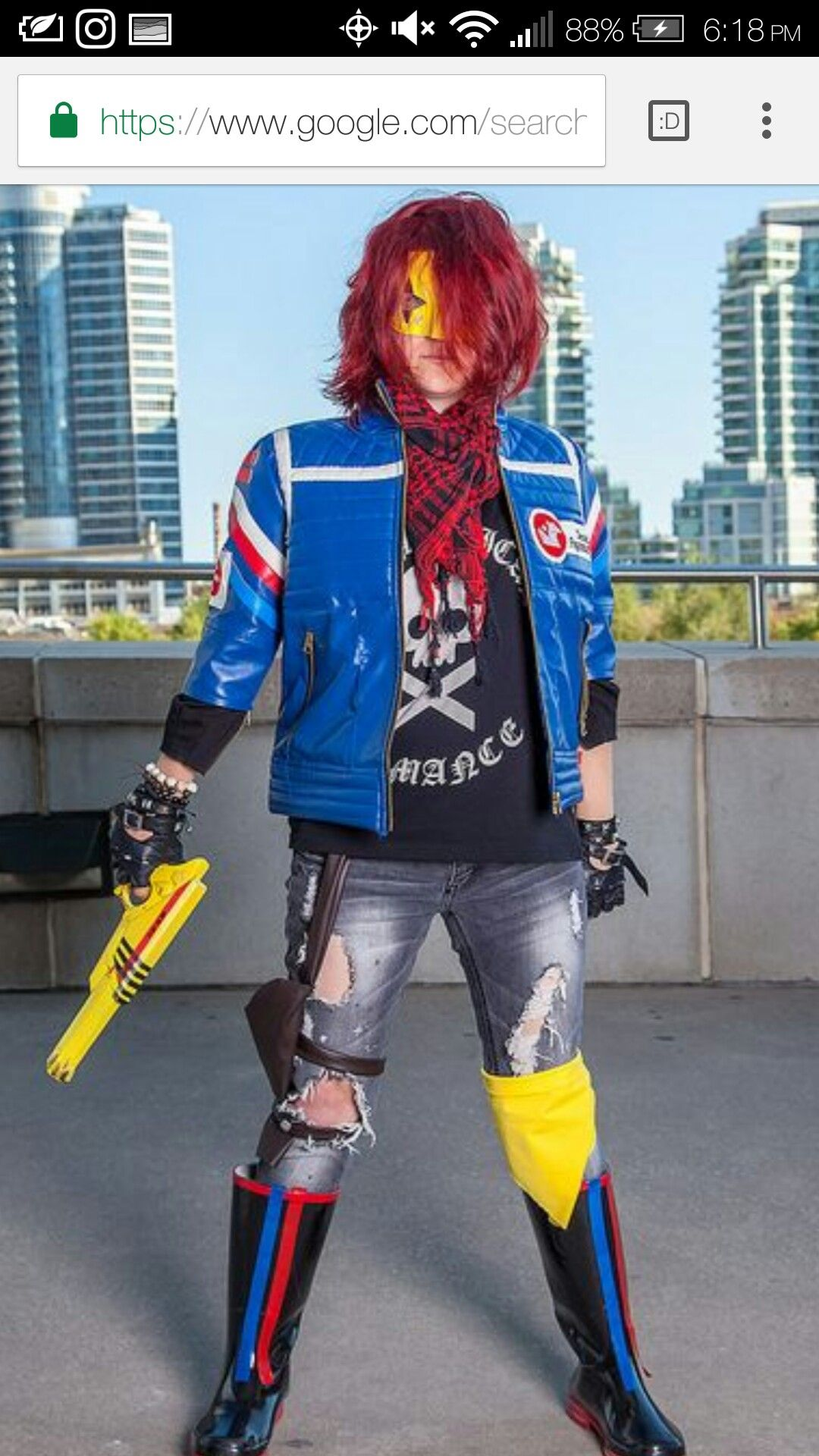 Pin By Miles On Party Poison Cosplay Pinterest Killjoys Cosplay