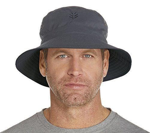 Coolibar Upf 50 Men S Reversible Bucket Hat Sun Protec Mens Sun Hats Hats For Men Sun Protection Hat