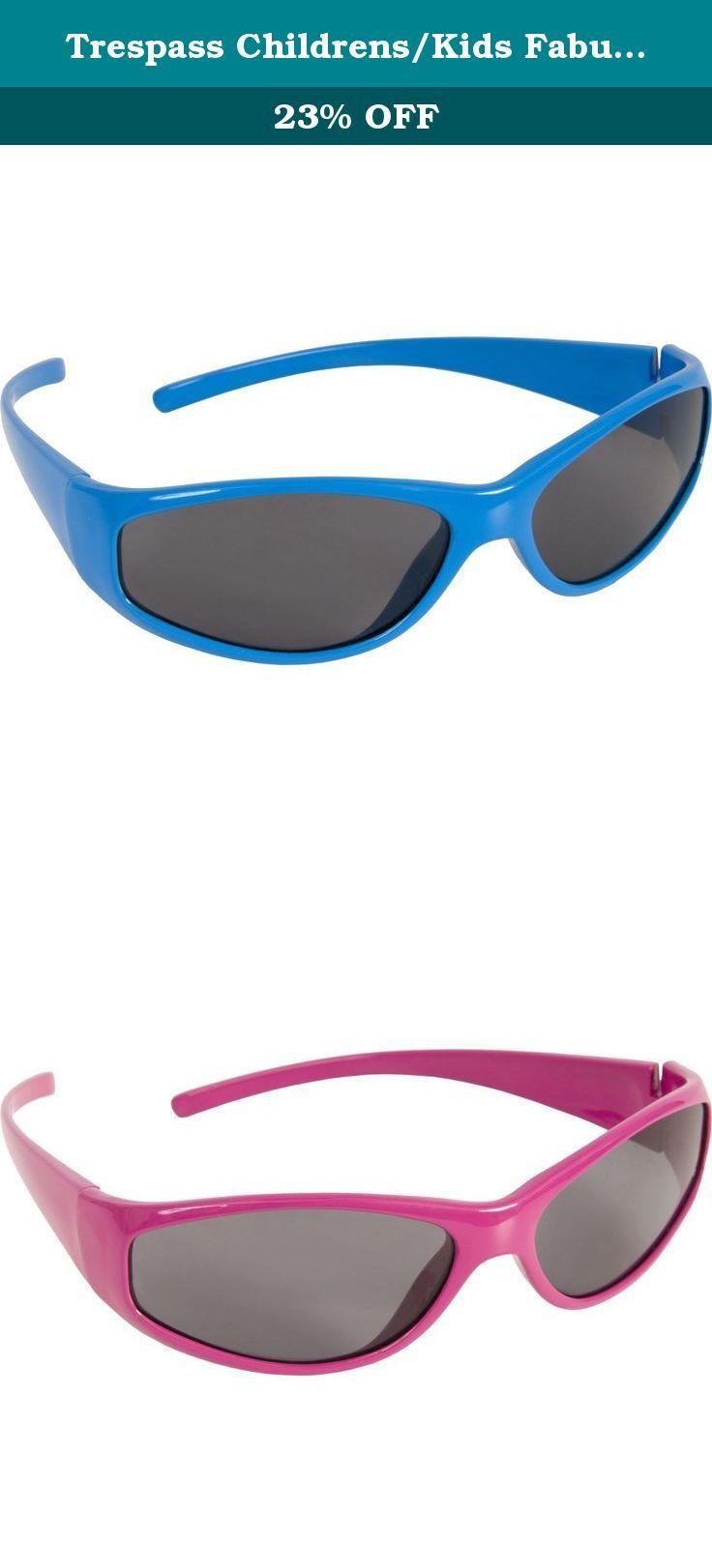 bada71398ec5 Trespass Childrens/Kids Fabulous Sunglasses (One Size) (Blue). Kids  sunglasses. UV Protection 400. Product conforms to EC Standard EN 1836 -  1997.