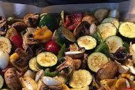 Ofengemüse: ein Blech voll Köstlichkeiten