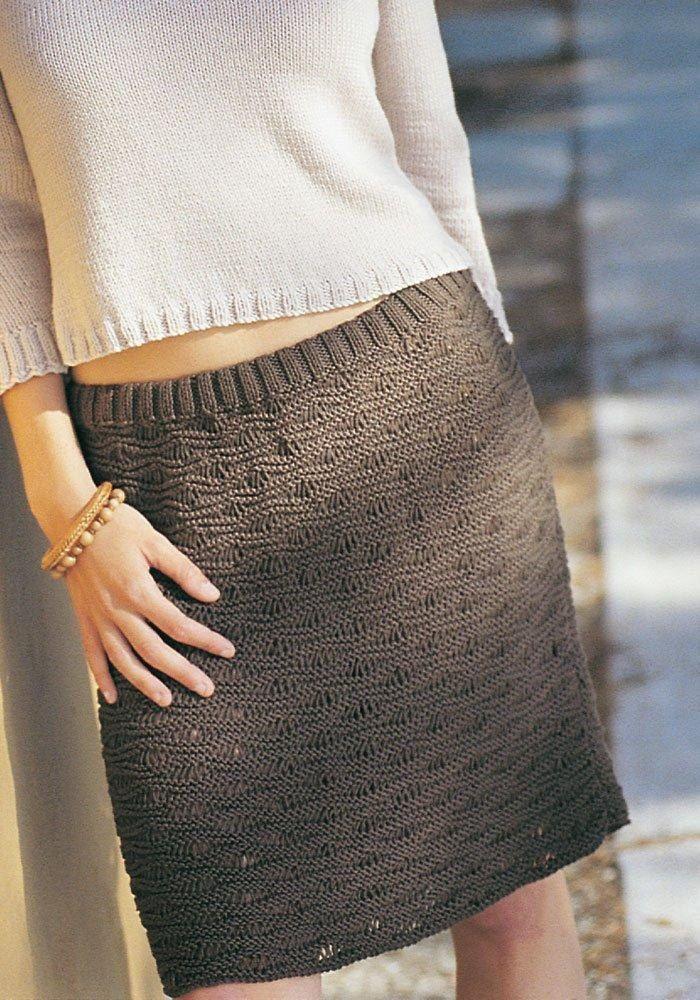 Justine Skirt | Strickröcke | Pinterest | Stricken, Kleider und Nähen