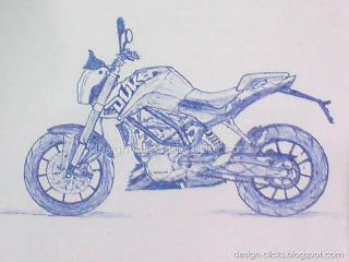Sketch Ktm Duke 200 Buscar Con Google With Images Ktm Duke