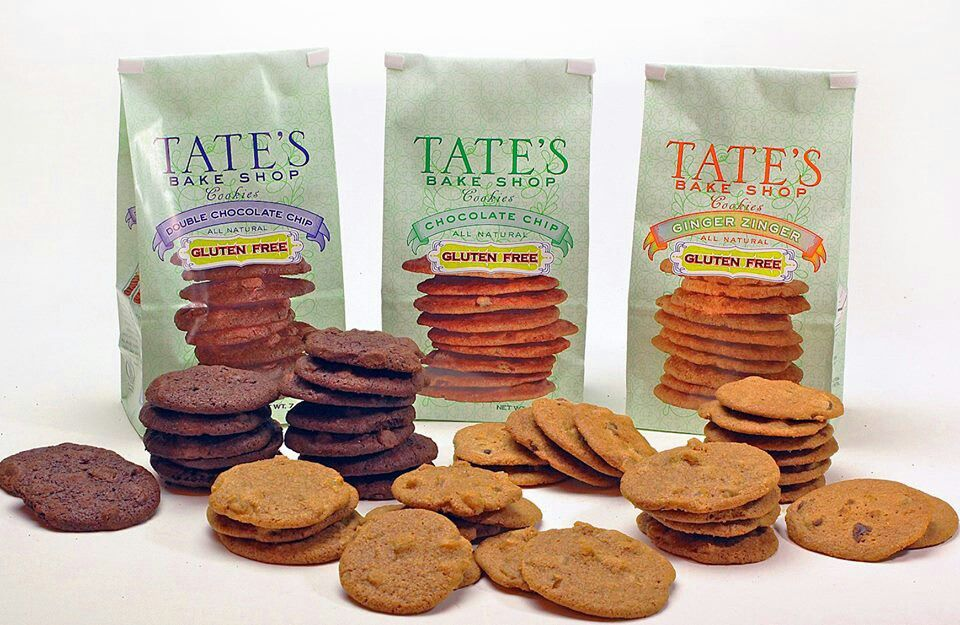 Gluten free cookies by tates just came out with 2 new