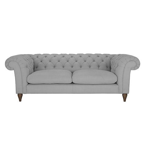 John Lewis Partners Cromwell Chesterfield Grand 4 Seater Sofa In 2019 Fabric Chesterfield Sofa John Lewis Sofas Chesterfield Sofa