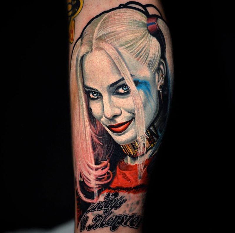 Joker And Harley Quinn Tattoo: Harley Quinn From Suicide Squad