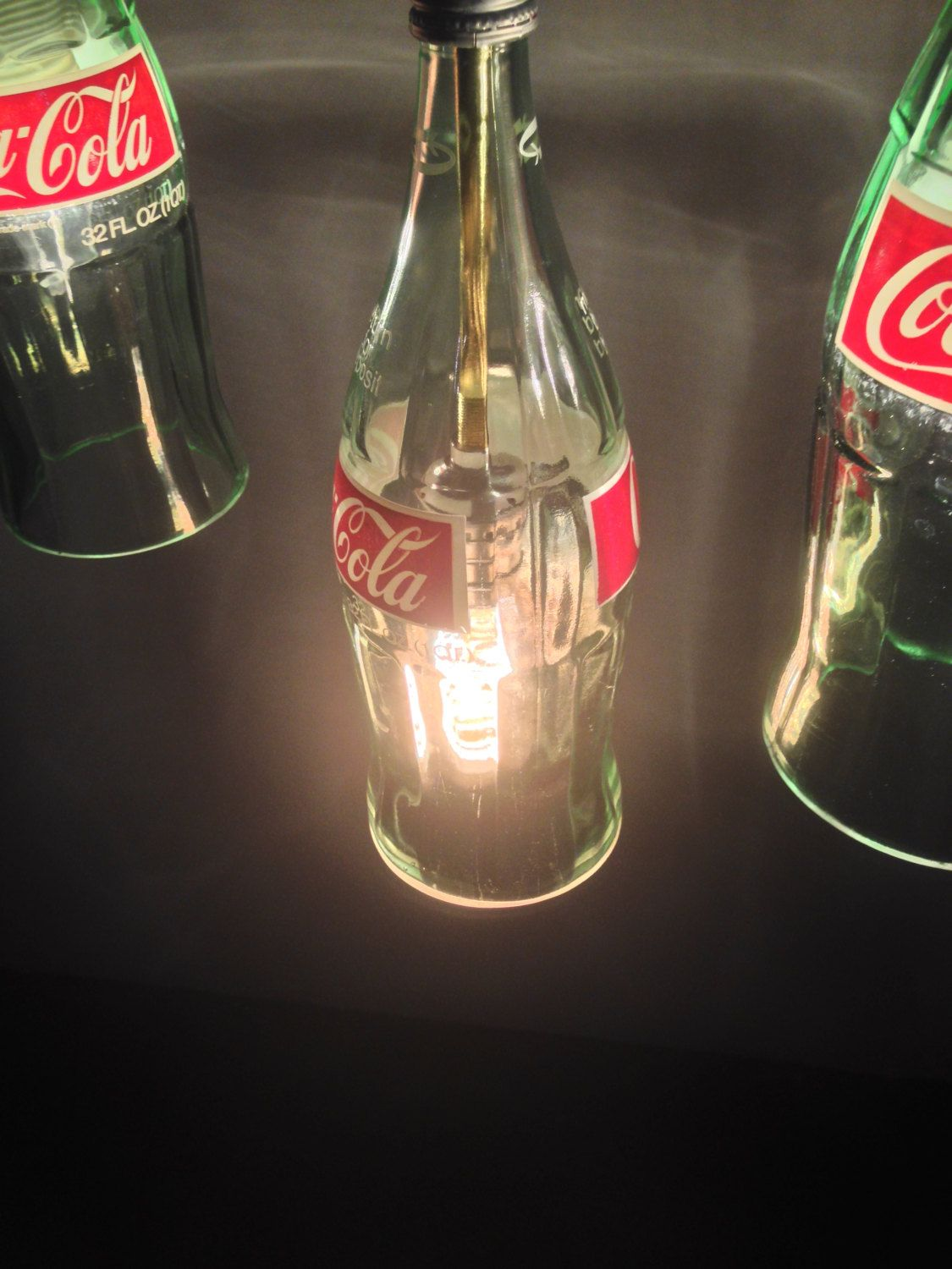 Coca cola bottle chandelier with crate by 869design on etsy https coca cola bottle chandelier with crate by 869design on etsy https arubaitofo Images