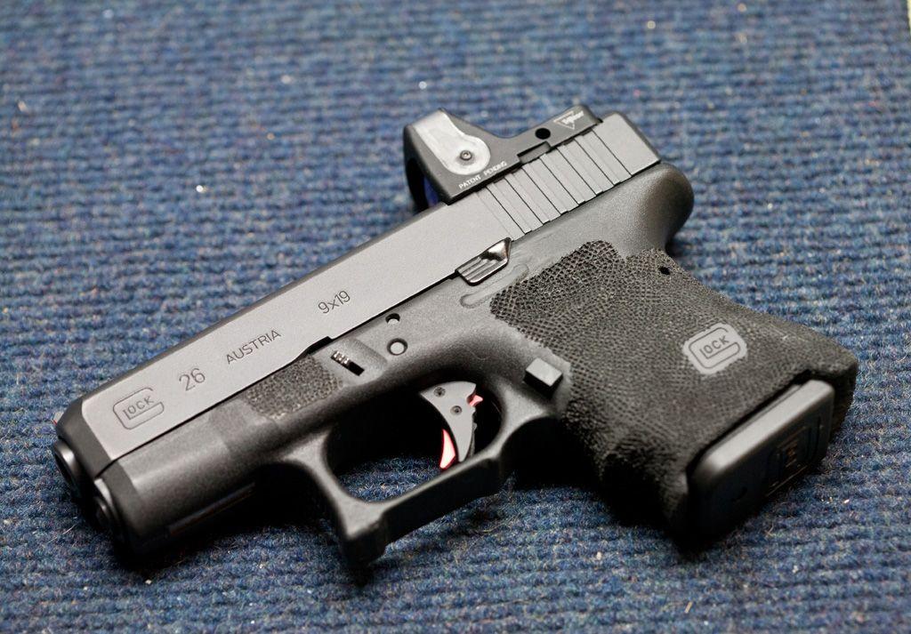 Glock 26 with RMR.