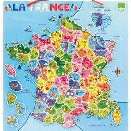 Carte D Europe Magnetique En Bois France Map France Map