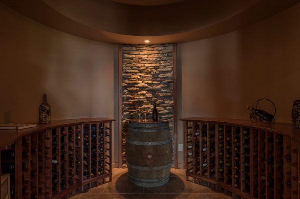 Tuscan Inspired Wine Cellar 1531 Pinot Gris Drive Kelowna Luxury