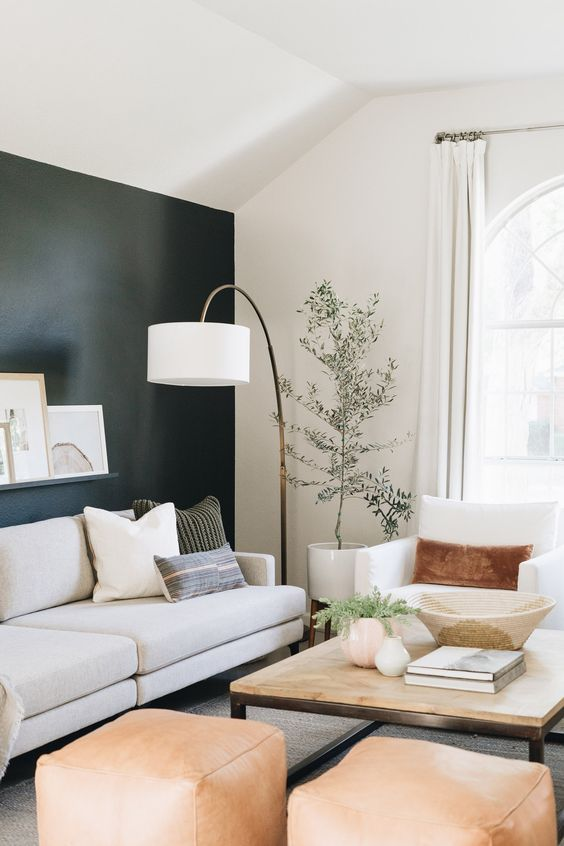 FOUR INTERIOR COLOR COMBOS WE'RE TRYING THIS YEAR images