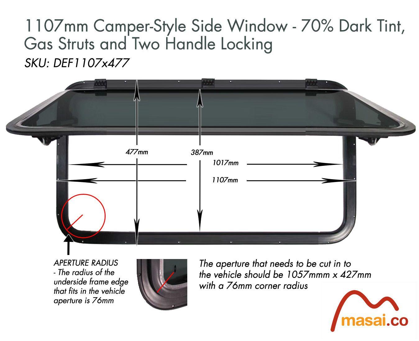 Side Windows For Land Rover Defender Land Rover Defender Land Rover Camper Windows