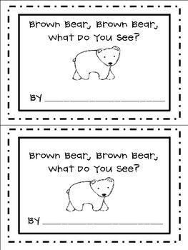 image regarding Brown Bear Printable Book named Brown Undergo, Brown Endure, What Do Yourself Watch? Freebie (Pupil