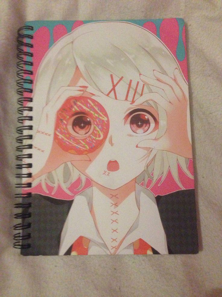 My tokyo ghoul juuzou notebook cadernos fofos tokyo