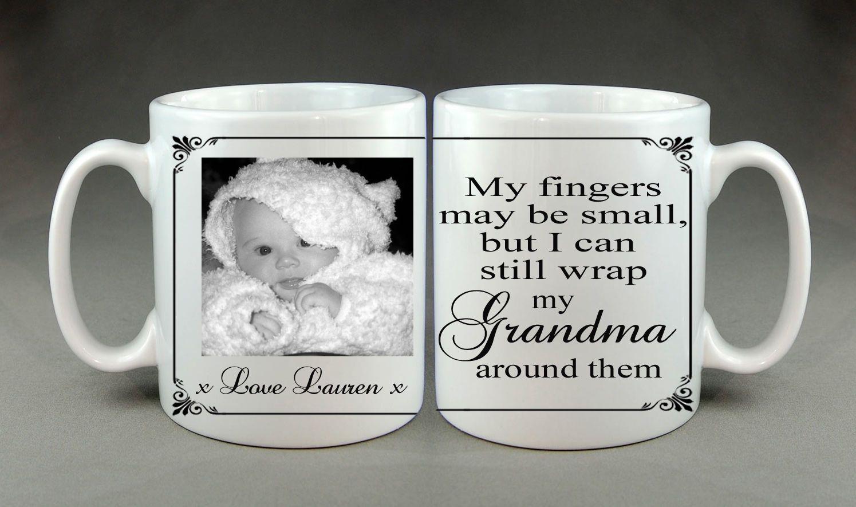 Details about personalised photo mug mum grandma nanny