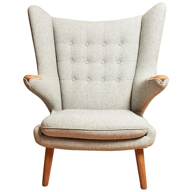 Groovy Hans J Wegner Ap19 Papa Bear Chair Furniture Chair Ibusinesslaw Wood Chair Design Ideas Ibusinesslaworg