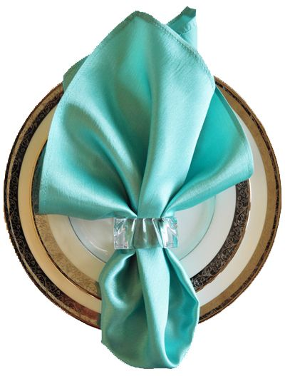 Tiffany Blue Aqua Satin Napkins Wholesale Table Napkin Wedding Silk Cheap Buy Linen Cloth Fabric Sale In Many