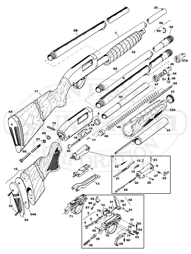 Pump Action Shotgun Plans