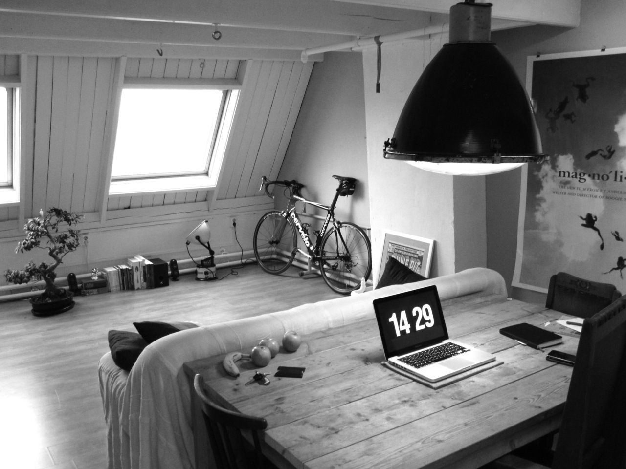 A bike always makes any room better!