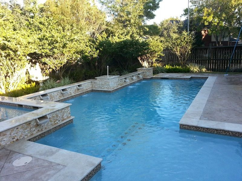 Custom pool designs pools spas expression custom for Pool design katy tx